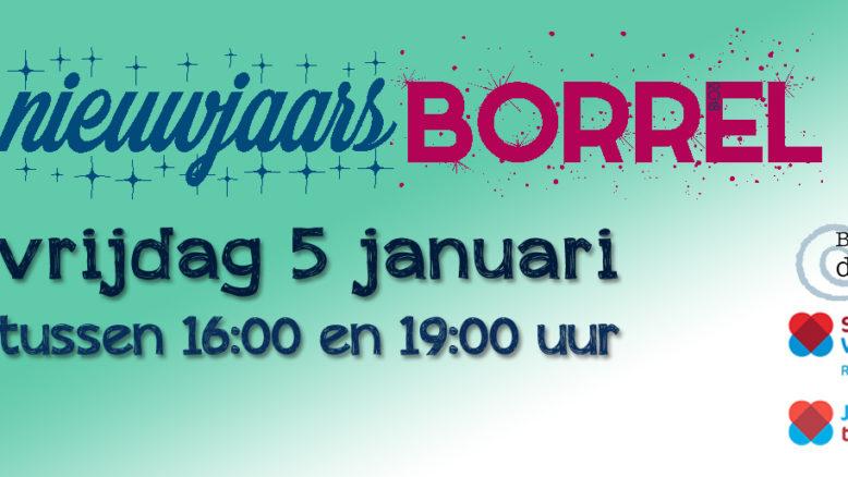 uitnodiging nieuwjaarsborrel Buurthuis de Kolk Zaandam